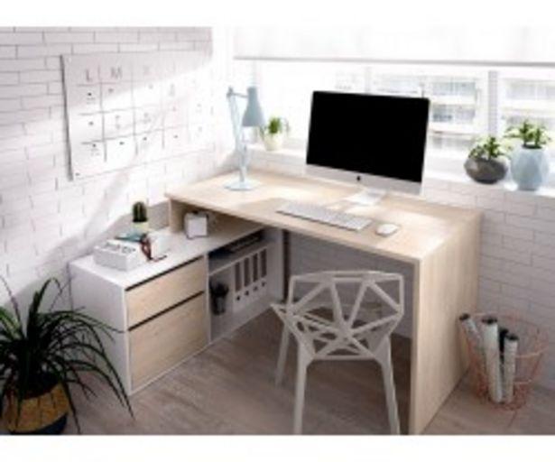 Oferta de Mesa de estudio en ángulo STUART por 125€
