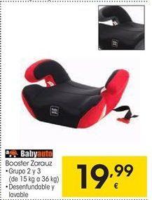 Oferta de Babyauto Booster Zarauz por 19,99€