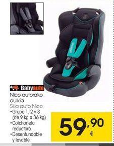 Oferta de Babyauto Silla auto Nico por 59,9€