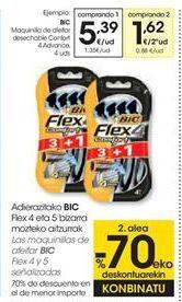 Oferta de BIC Maquinilla de afeitar desechable Confort 4 Advance, 4 uds por 5,39€