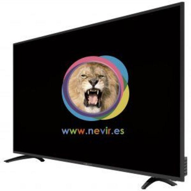 Oferta de LED 43″ NEVIR NVR-8060-434K2S ANDROID TV 4K UHD por 279€