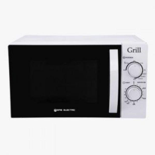Oferta de Microondas Blanco Embg20L Eas Electric Grill por 65€