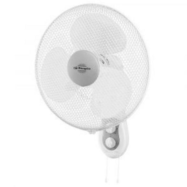 Oferta de Ventilador Pared Orbegozo Wf-0139 por 35,9€