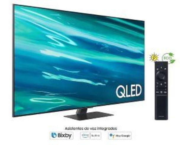 "Oferta de Led 55"" Samsung Qe55Q80Aatxxc 3800Hz 4K Smart Tv por 1319€"