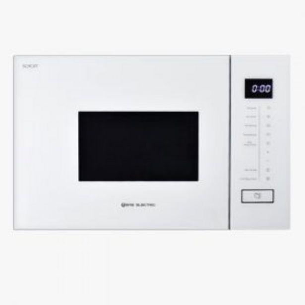 Oferta de Microondas Encastre Emegw20L Eas Electric Blanco por 259€