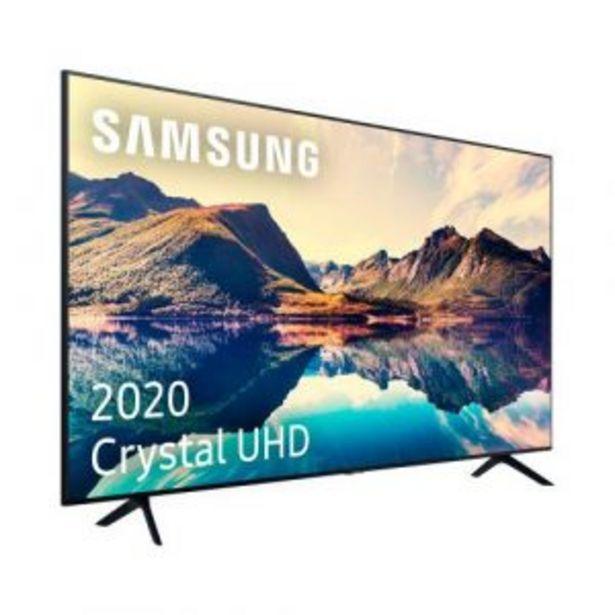Oferta de LED 70″ SAMSUNG UE-70TU7025KXXC 2000Hz PQI 4K SMART TV por 799€
