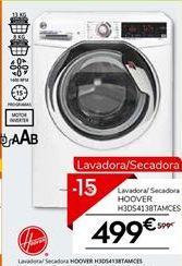 Oferta de Lavadora secadora Hoover por 499€
