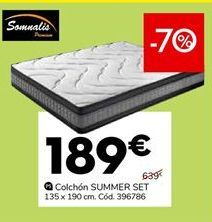Oferta de Colchones por 189€