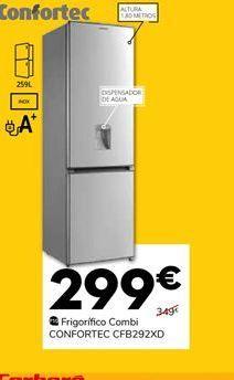 Oferta de Frigorífico combi por 299€