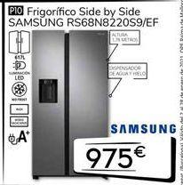 Oferta de Frigoríficos Samsung por 975€