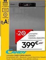 Oferta de Lavavajillas Candy por 399€