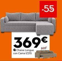 Oferta de Chaise longue con cama por 369€
