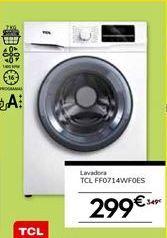 Oferta de Lavadoras TCL por 299€
