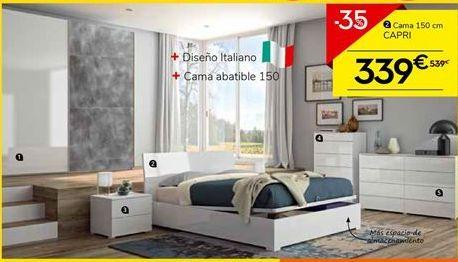 Oferta de Camas Capri por 339€