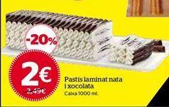 Oferta de Tartas por 2€