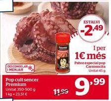 Oferta de Pulpo por 9,99€