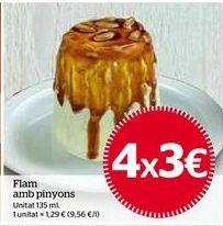 Oferta de Flan por 3€