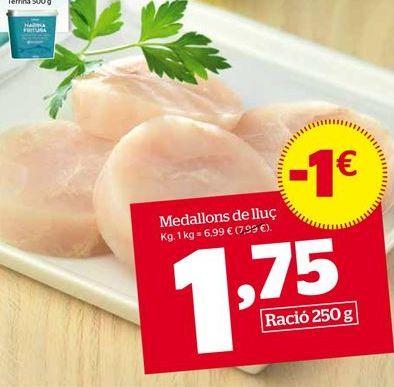 Oferta de Merluza por 1,75€