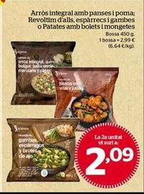 Oferta de Platos preparados por 2,09€