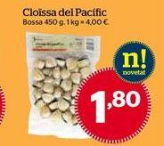 Oferta de Almejas por 1,8€