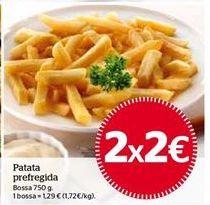 Oferta de Patatas fritas congeladas por 2€