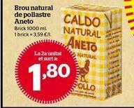 Oferta de Caldo de pollo por 1,8€
