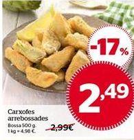 Oferta de Alcachofas rebozadas por 2,49€