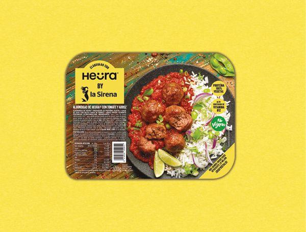Oferta de Heura ® balls con tomate y arroz por 2,99€