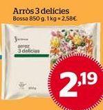 Oferta de Arroz tres delicias por 2,19€