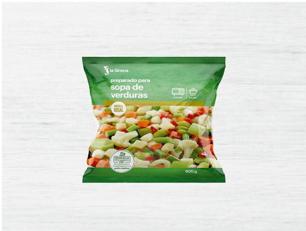 Oferta de Sopa de verduras por 0,69€