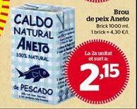 Oferta de Caldo de pescado Aneto por 2,15€