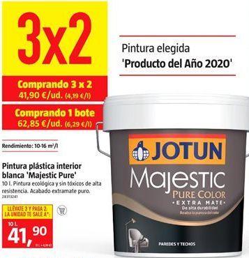 Oferta de Pintura plástica interior por 41,9€