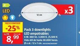 Oferta de Downlight led por 8,99€