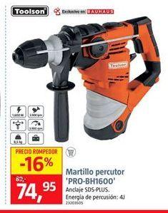Oferta de Martillo percutor por 74,95€