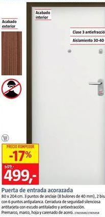Oferta de Puerta de entrada por 496€