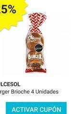 Oferta de Pan de hamburguesa Dulcesol por