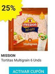 Oferta de Tortitas de maíz Mission por