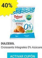 Oferta de Croissants Dulcesol por