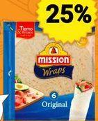 Oferta de Tortitas mejicanas Mission por