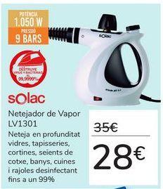Oferta de Limpiador a Vapor LV1301 por 28€