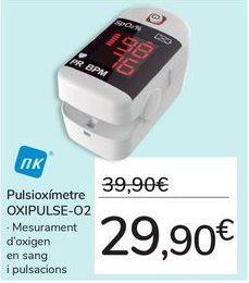 Oferta de Pulsioxímetro OXIPULSE-O por 29,9€