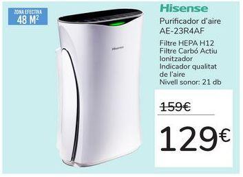 Oferta de Purificador de aire AE-23R4AF por 129€