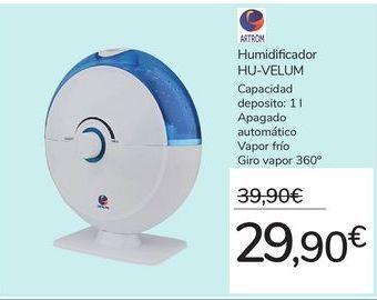 Oferta de Humidificador HU-VELUM por 29,9€