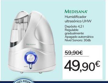 Oferta de Humidificador ultrasónico UHW por 49,9€