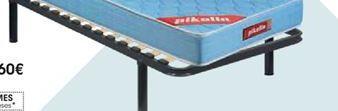 Oferta de Somier Guardaespaldas adaptabilidad • 90 x 190 cm por 82,2€