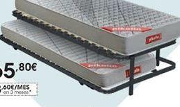 Oferta de Somier Guardaespaldas adaptabilidad activa • 90 x 190 cm por 96€