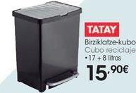 Oferta de Cubo reciclaje • 17 + 8 litros por 15,9€
