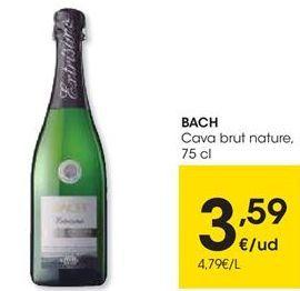 Oferta de Cava brut Bach por 3,59€
