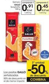 Oferta de Pasta Gallo por 0,91€