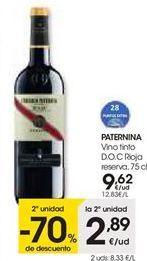 Oferta de Vino tinto Paternina por 9,62€